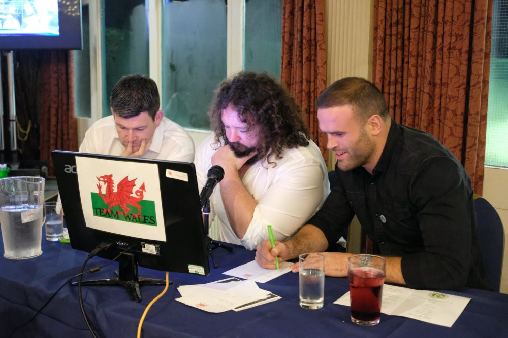Welsh Rugby Players at Question of Sport
